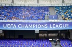 欧洲联赛冠军杯决赛2018年 免版税库存图片