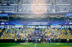 欧洲联赛冠军杯决赛2018年 库存图片