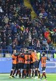 欧洲联赛冠军杯:Shakhtar顿涅茨克v费耶诺德队 库存图片