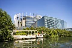 欧洲议会,史特拉斯堡,法国 库存图片