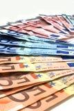 欧洲货币。 库存图片