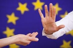 欧洲货币没有联盟 免版税库存图片