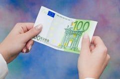 欧洲货币 库存照片