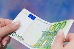 欧洲货币 库存图片