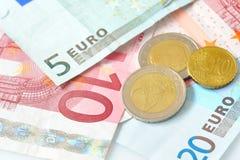 欧洲货币 免版税图库摄影