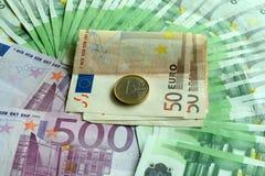 欧洲货币 免版税库存图片