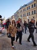 欧洲鲁布林波兰的学报 免版税库存照片