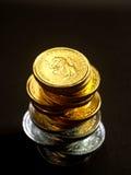 欧洲10枚的硬币 免版税库存图片