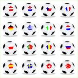 欧洲2008个的球 免版税库存照片