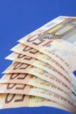 欧洲50张的钞票 库存照片