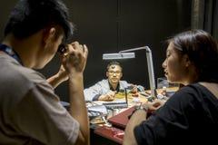 欧特Horlogerie陈列在亚洲2014年 免版税库存照片