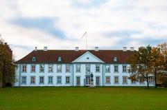 欧登塞宫殿在丹麦 免版税图库摄影