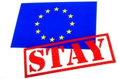 欧盟公民投票 库存图片