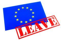 欧盟公民投票 免版税库存照片