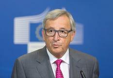欧盟委员会主席让-克洛德・容克 免版税库存图片