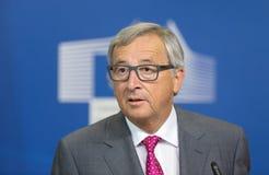 欧盟委员会主席让-克洛德・容克 免版税库存照片
