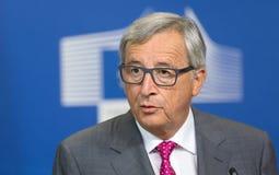 欧盟委员会主席让-克洛德・容克 库存照片