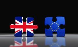 从欧盟的Brexit英国分离 皇族释放例证