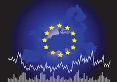 欧盟经济 库存例证