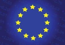 欧盟股市 向量例证