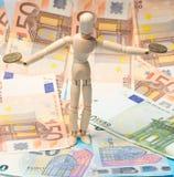欧盟金融市场 免版税库存照片