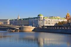 欧盟代表团的大厦向俄罗斯 莫斯科 免版税库存图片