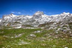 欧罗巴山风景 库存图片