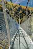 欧罗巴桥梁,最长的吊桥 免版税图库摄影