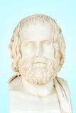 欧里庇得斯雕象  免版税库存照片