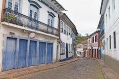 欧鲁普雷图,米纳斯吉拉斯州,巴西 免版税图库摄影