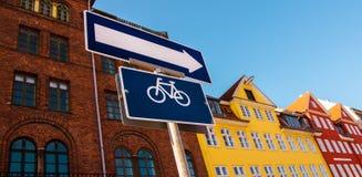 欧洲乘自行车 免版税库存照片