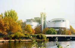 欧洲人权法院, ecthr, Cour europeenne des权利 免版税库存照片
