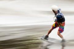 欧洲人Wakeboard大师 免版税图库摄影