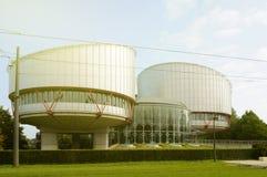 欧洲入口标志宫殿在晴天 免版税图库摄影