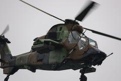 欧洲直升机公司老虎西班牙人军队 库存照片