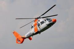 欧洲直升机公司(法国航太公司) AS-365杜法因呢 库存图片