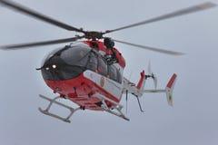 欧洲直升机公司EC145抢救直升机 库存图片
