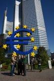 欧洲危机 免版税库存照片