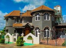 欧洲城堡称呼了别墅 库存图片