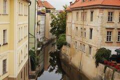 欧洲城市在夏天 库存图片