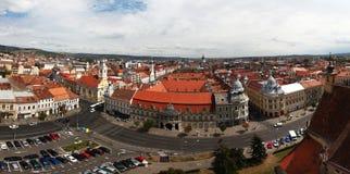 欧洲城市scape 库存照片