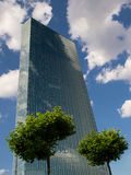 欧洲央行总部 图库摄影