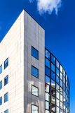 欧洲委员会蓝色现代大厦  免版税图库摄影