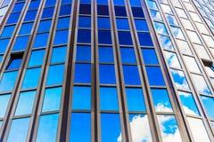 欧洲委员会蓝色现代大厦  库存照片