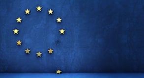 从欧洲小组退出 向量例证