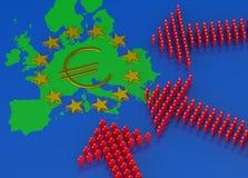 欧洲移居危机 免版税图库摄影