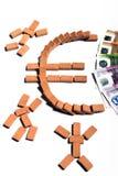 欧洲货币联盟 库存照片