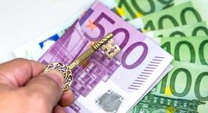 欧洲货币,欧洲金钱 库存图片