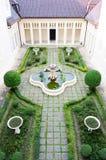 欧洲庭院样式 库存图片