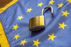欧洲开放了边界 库存图片